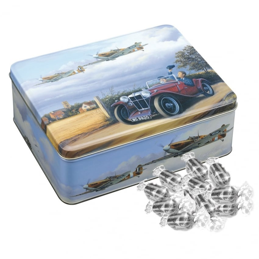 Spitfire Coming Home Mini Tin Treats of Humbugs
