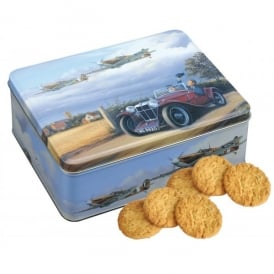 Spitfire Coming Home Tin of Honey & Ginger Biscuits