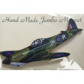 Spitfire Cut Out Jumbo Fridge Magnet