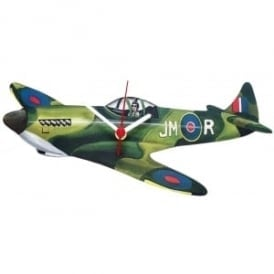 Lark Designs Spitfire Cut Out Wooden Wall Clock