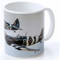 Spitfire Duo Wings of Freedom Mug