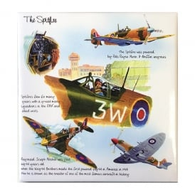 Spitfire Fridge Magnet