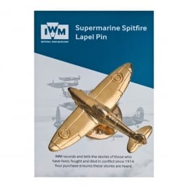 Spitfire Gold Pin Badge