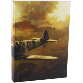 RAF Spitfire In the Clouds Note Book