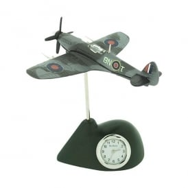 Spitfire Miniature Desk Clock