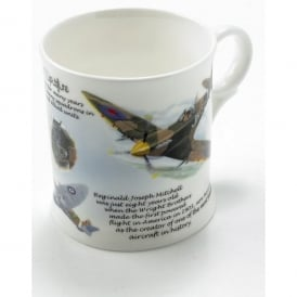 Little Snoring Spitfire Montage China Mug