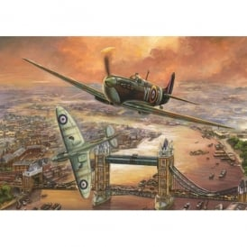 Jumbo Spitfire Over London Jigsaw (1000 Pieces)