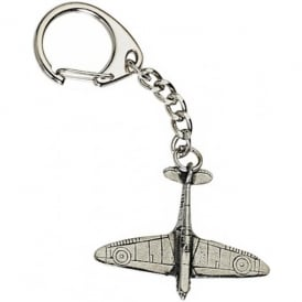WestAir Spitfire Pewter Keyring
