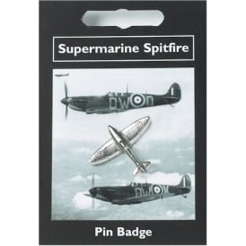 Spitfire Pewter Pin Badge