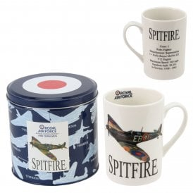 Spitfire Photographic White China Mug