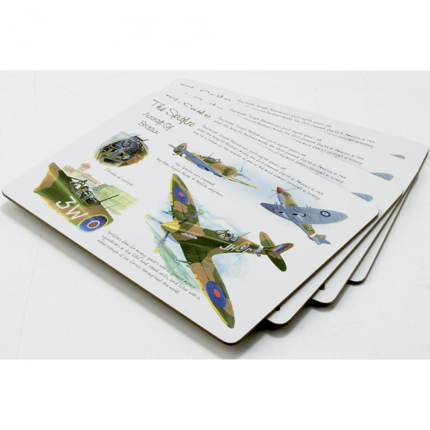 Spitfire Placemat Set Of 4