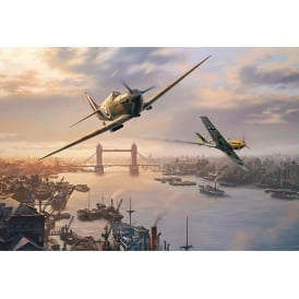 Spitfire Skirmish Jigsaw Puzzle (500 pieces)