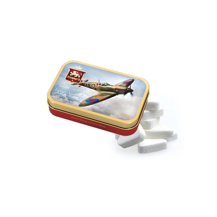Spitfire Small Tin of Mints
