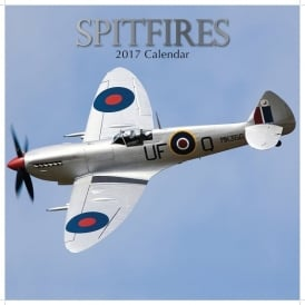 Gifted Stationery Spitfires Calendar 2017