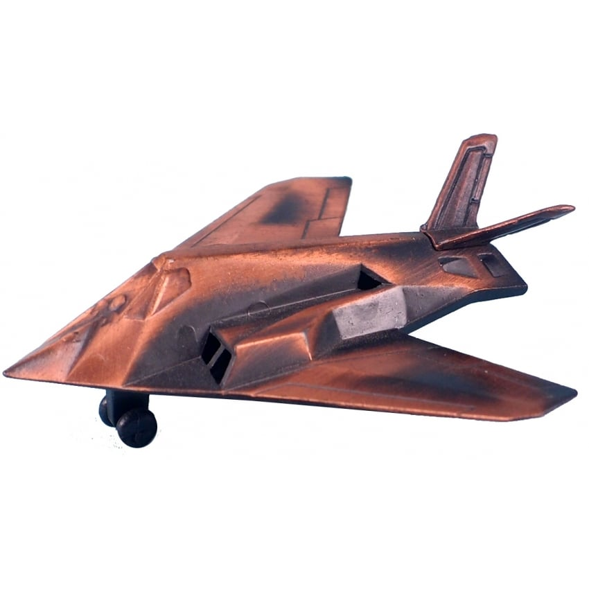 Stealth Bomber Antique Style Pencil Sharpener