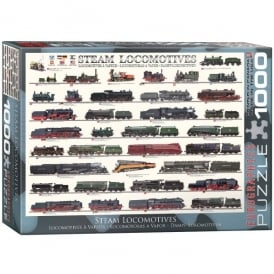 Steam Locomotives 1000 Piece Jigsaw
