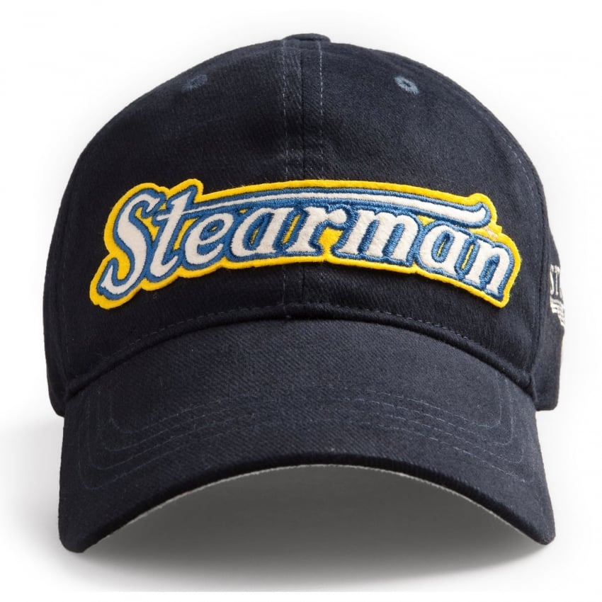 Stearman Baseball Cap - Navy