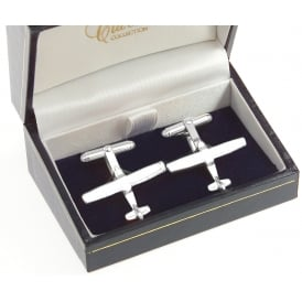 Clivedon Sterling Silver Cufflinks - Cessna
