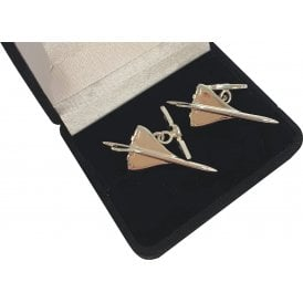 Clivedon Sterling Silver Cufflinks - Concorde