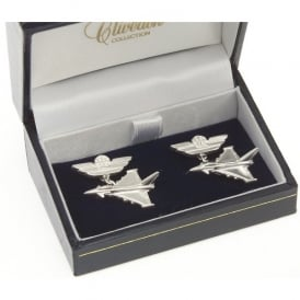 Sterling Silver Cufflinks - Eurofighter