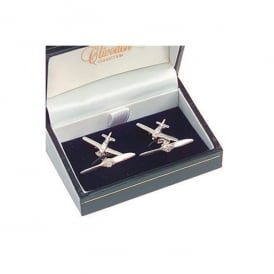 Clivedon Sterling Silver Cufflinks - Piper Cherokee