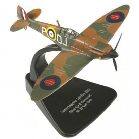 Oxford DieCast Supermarine Spitfire Mk I Diecast Model RAF No.92 Sqn - Scale 1:72