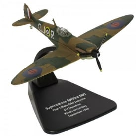 Oxford DieCast Supermarine Spitfire MkI 616 Sq. Diecast Model - Scale 1:72