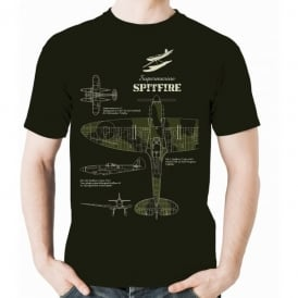 Flying Graphics Supermarine Spitfire T-Shirt