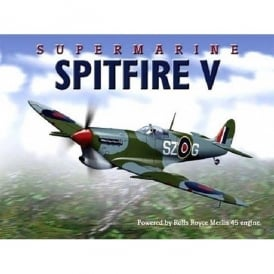 Original Metal Sign Company Supermarine Spitfire V Fridge Magnet