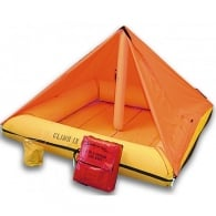 Survival Life Raft 4 person (TSO) with Canopy