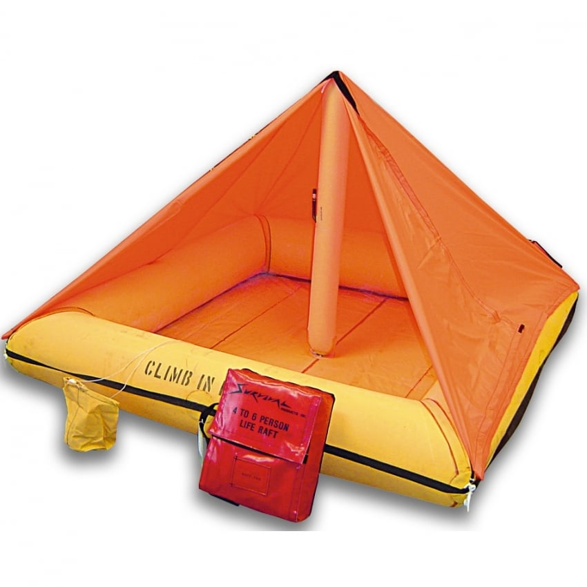 Liferaft - 4 person with Canopy