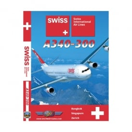 Just Planes Swiss Airlines A340-300 DVD - Bankok to Singapore