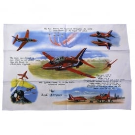 Tea Towel - Red Arrows