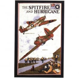 Tea Towel - Spitfire & Hurricane