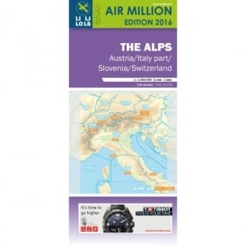 The Alps VFR 1:1,000,000 Chart - 2016
