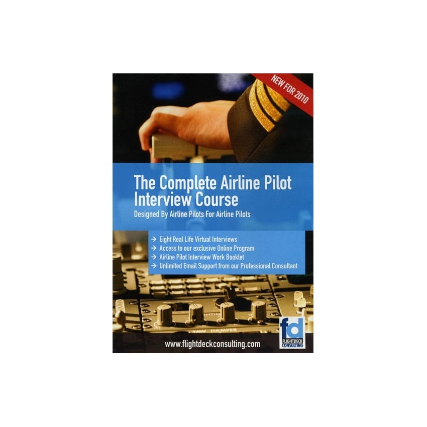 The Complete Airline Pilot Interview Course DVD