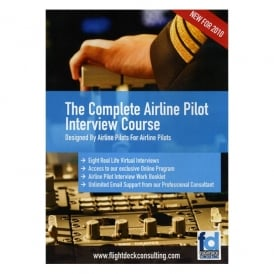 Flight Deck Consulting The Complete Airline Pilot Interview Course DVD