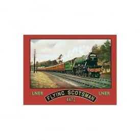 The Flying Scotsman 4472 LNER Metal Sign