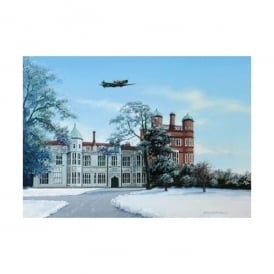 The Home of Radar, Bawdsey Manor, Suffolk Christmas Cards - Pack of 4