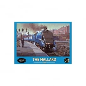 The Mallard 4468 Train Doncaster 1938 Metal sign