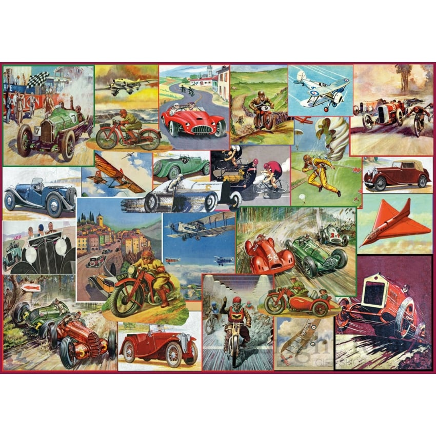 The Racing Game Jigsaw Puzzle (1000 pieces)