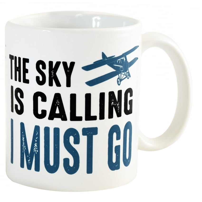 The Sky Is Calling - I Must Go Mug