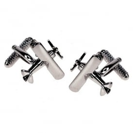 Tiger Moth Cufflinks