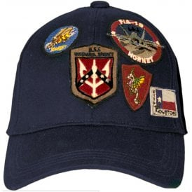 Top Gun Patch Baseball Cap in Navy 0de312d8893