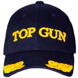 Top Gun Wings Baseball Cap in Navy 094da32e561