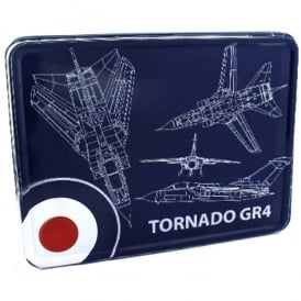 RAF Tornado Blueprint Storage Tin