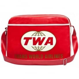 Trans World Airline Sports Bag In Red