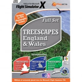Playsims Publishing Treescapes 1-3 England Complete