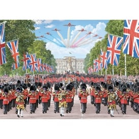 Trooping The Colour Jigsaw Puzzle (500 pieces)