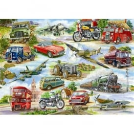 Truly Classic British Transport Jigsaw Puzzle - (500 pieces)